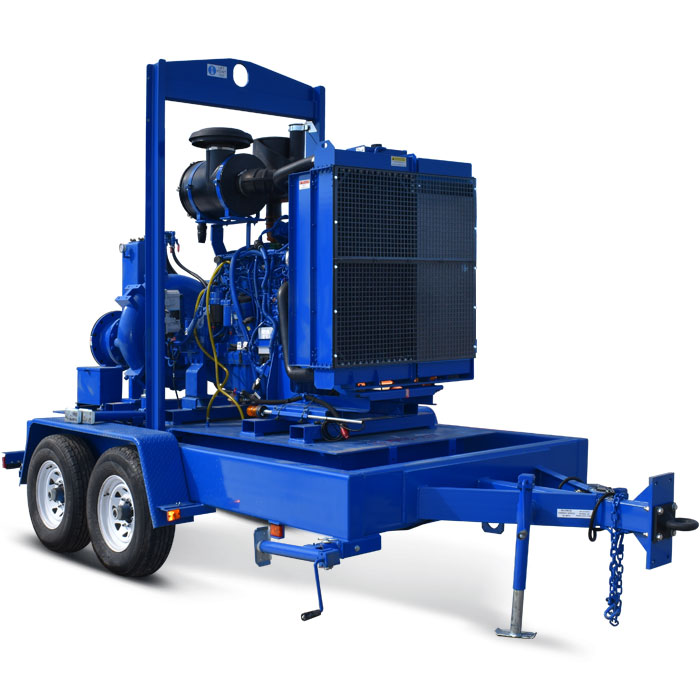Ketek - 12″ High Volume Diesel Pump For Rent