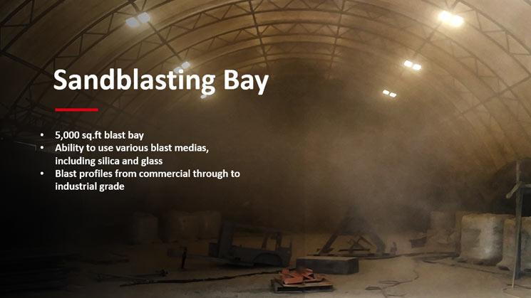 Ketek - Sandblasting Bay