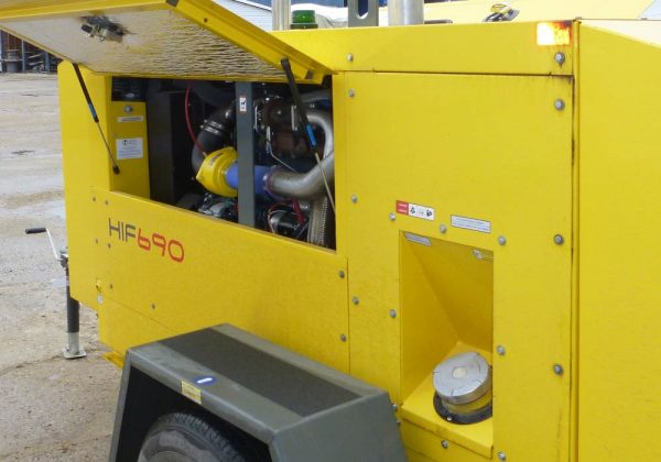 HIF 690 Flameless Indirect-Fired Air Heater - Ketek