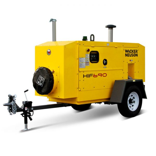 HIF 690 Flameless Indirect-Fired Air Heater For Rent - Ketek
