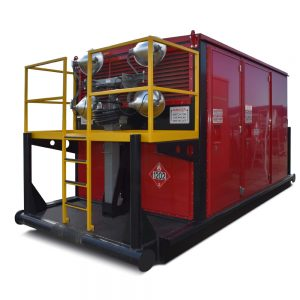 Equipment Rentals - Dual 100 kW generator C/W light tower