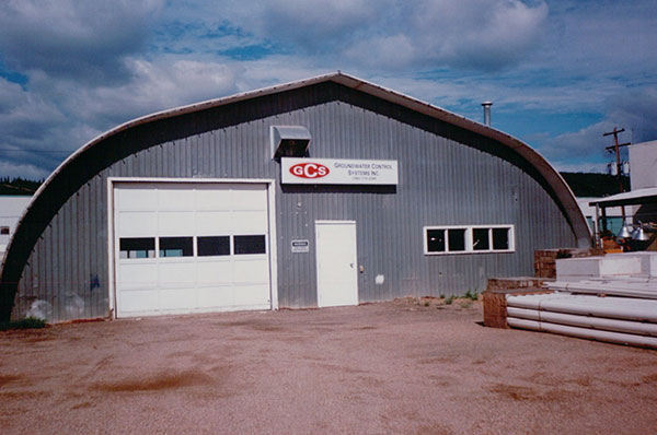 Ketek's first presence in Fort McMurray, in 1998, was via the Groundwater Control Systems' quonset hut.