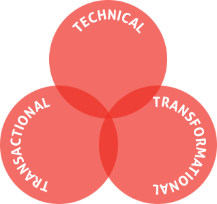 Project Management - Technical - Transactional - Transformational